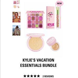 Kylie cosmetics vacation essentials